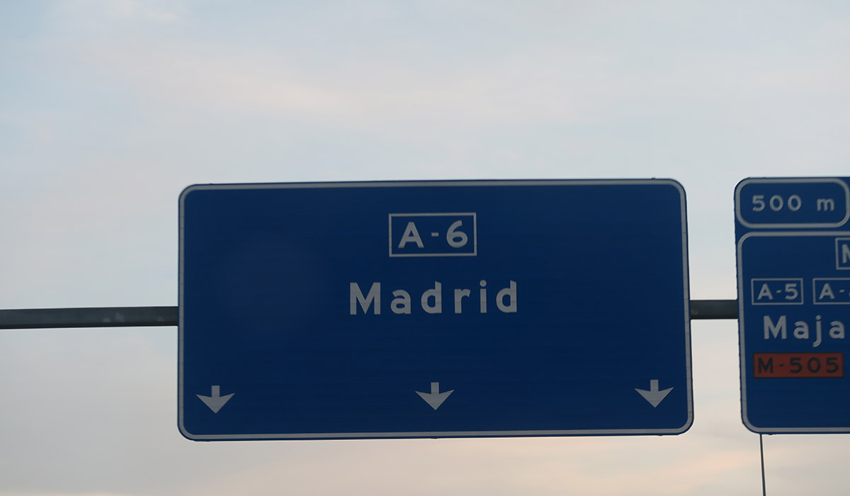 Walking on… Madrid A6